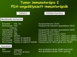 tumor immunoter pia i fda enged lyezett immunter pi k