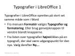 typografier i libreoffice 1
