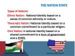 the nation state1