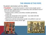the origins of the state1
