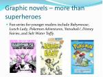 graphic novels more than superheroes2