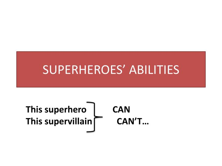 superheroes abilities n.