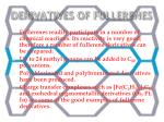 derivatives of fullerenes