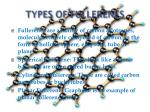 types of fullerenes
