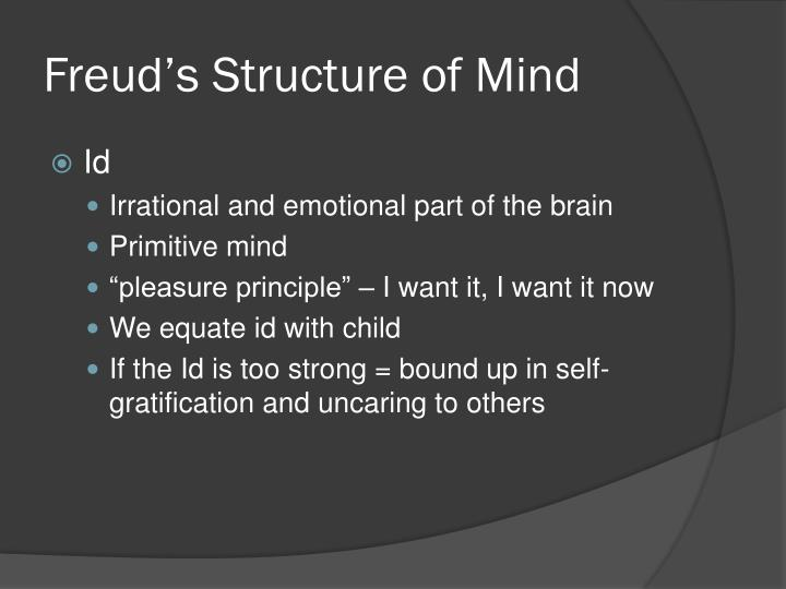 Freud's Structure of Mind