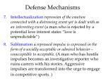 defense mechanisms4