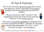id ego superego