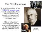 the neo freudians