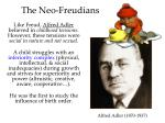 the neo freudians1