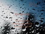 the rain falls