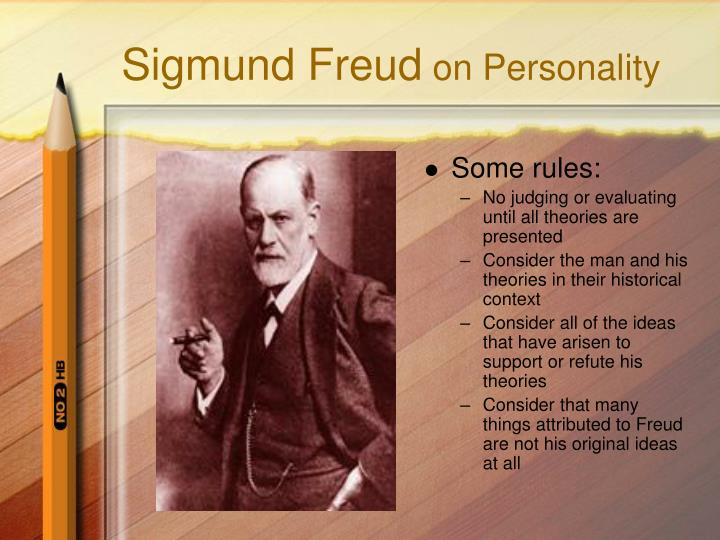 sigmund freud on personality n.