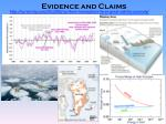 evidence and claims