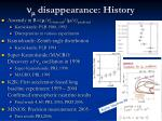 n m disappearance history