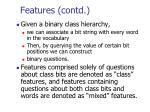features contd1