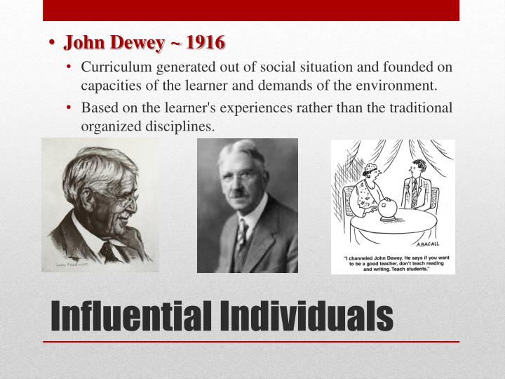John Dewey ~ 1916