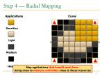 step 4 radial mapping