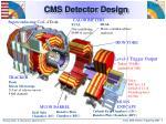 cms detector design