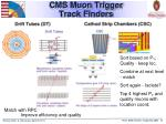 cms muon trigger track finders