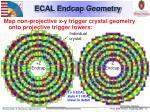 ecal endcap geometry