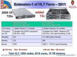 extension 1 of hlt farm 2011