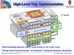 high level trig implementation