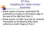 et plus installing the cable anchor assembly3