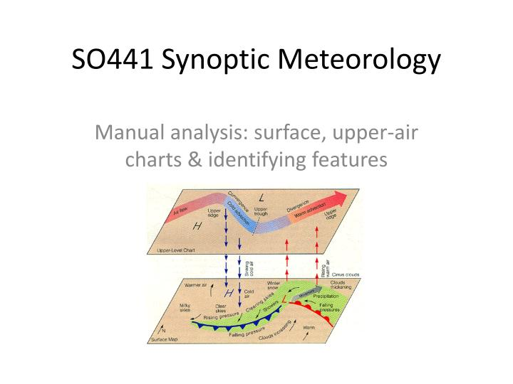 so441 synoptic meteorology n.