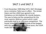 salt 1 und salt 2