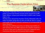 the russian federation files