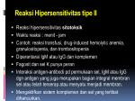 reaksi hipersensitivitas tipe ii