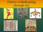 history of beekeeping through art