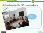 beforschung der bio kip lernumgebung2