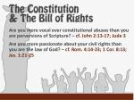 the constitution the bill of rights