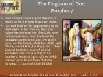 the kingdom of god prophecy4