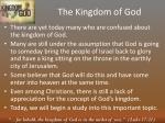 the kingdom of god1