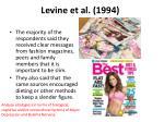 levine et al 1994