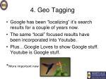 4 geo tagging