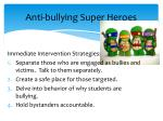 anti bullying super heroes