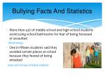 bullying facts and statistics1