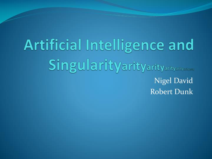 artificial intelligence and singularity arity arity arity arity arity arity n.