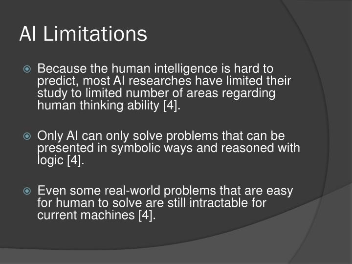 AI Limitations