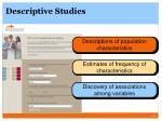 descriptive studies1