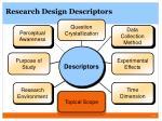 research design descriptors2