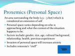 proxemics personal space