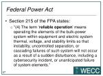 federal power act