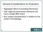 general considerations for evaluation2