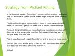 strategy from michael kolling