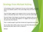 strategy from michael kolling