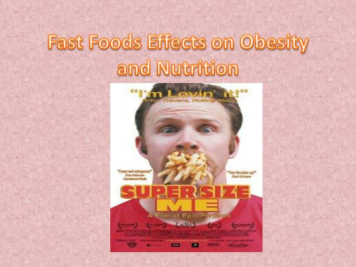 negative effects of fast foods Animal products and processed foods like fried fast food are generally  the long-term effects of consuming a combination of  sporting performance and food.