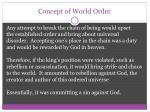 concept of world order1